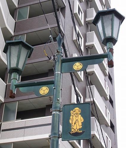 130219水戸黄門神社脇街路灯