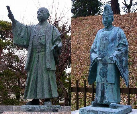 130319徳川斉昭像と頼房像