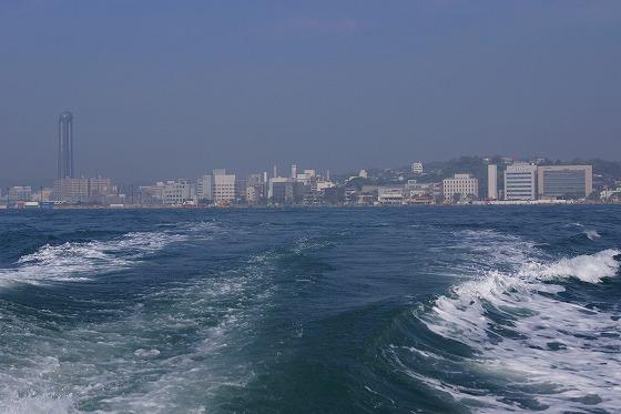 130425唐戸桟橋から門司港へ