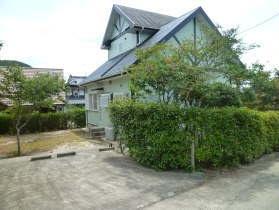 平山温泉 家