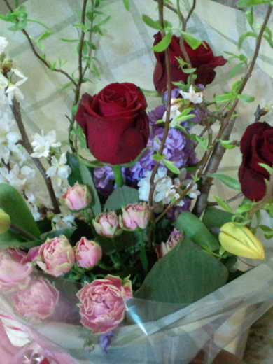 MUMUさんから頂いたお花!