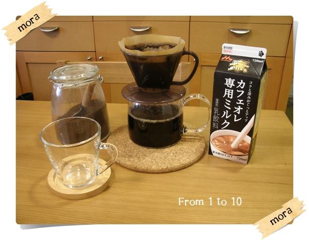 カフェオレ専用ミルク