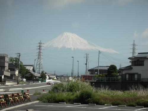 5/17の富士山