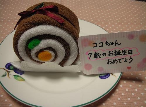Happy Birthday ココちゃん