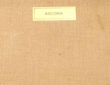 ウィンターコットンASCONAアスコナのキャメル