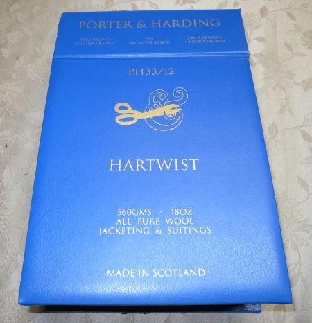 HARTWIST(ハーツイスト)の見本帳(バンチブック)
