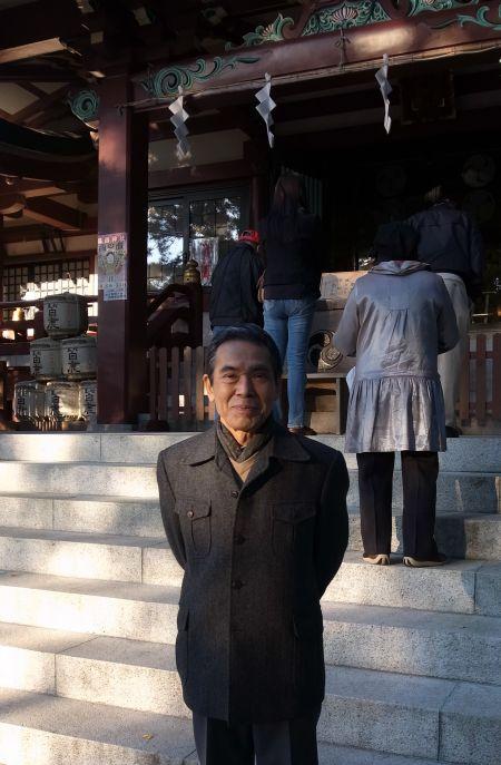 葛西神社にて