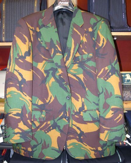 迷彩のオーダージャケット