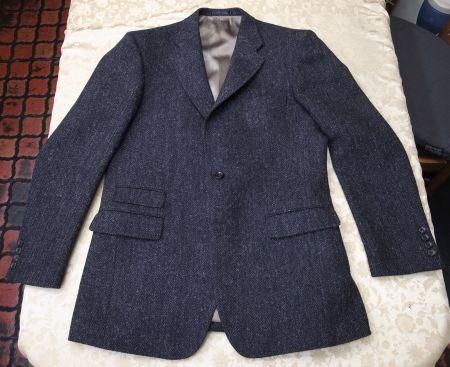 ハリスツイードのスリーピース・スーツのジャケット