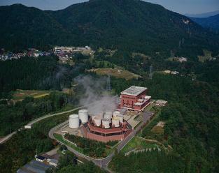 柳津西山地熱発電所