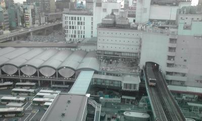 ヒカリエからの渋谷駅