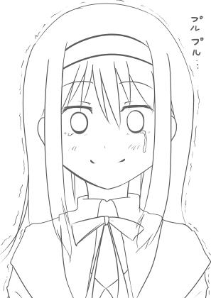 意気消沈のほむらちゃん(途中?)