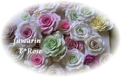 クレイフラワー 薔薇