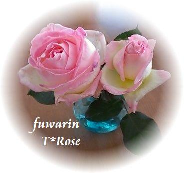樹脂粘土 薔薇