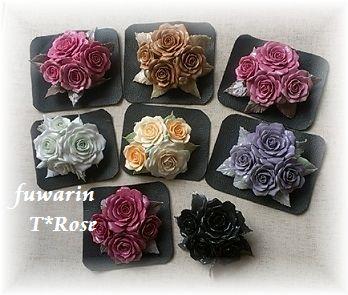 薔薇のブローチ