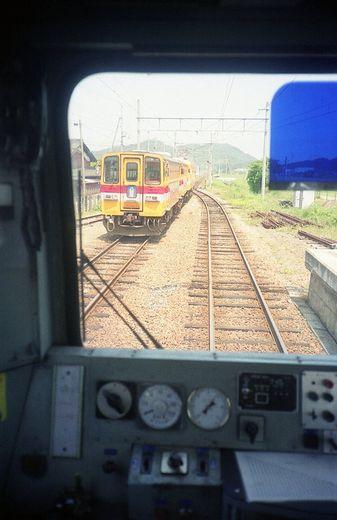 1992近江鉄道・日野駅350-1
