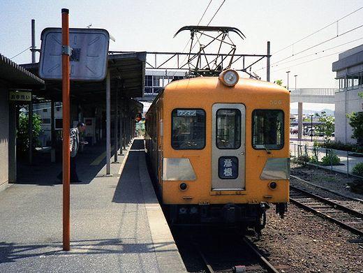 1992近江鉄道・日野駅348-1