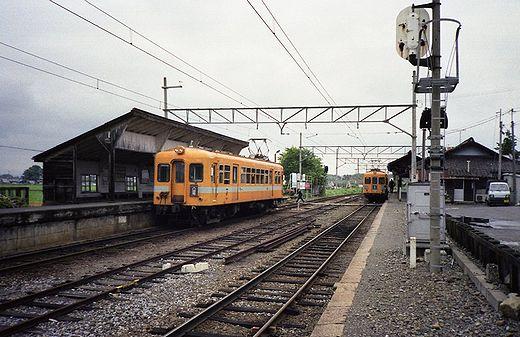 1992近江鉄道・日野駅357-1