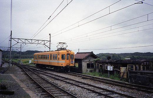 1992近江鉄道・日野駅356-1