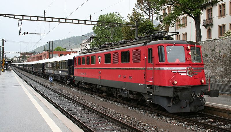 Ae6-6 with Orient Express