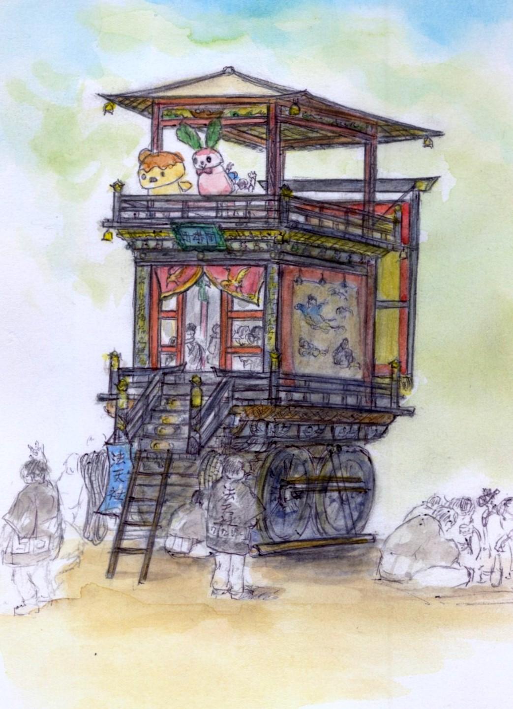 日野祭り曳山