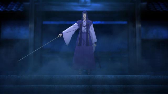 6 佐々木小次郎 よい。敵を知るには、この刀だけで十分だ。ここを通りたいのならば押し通れ