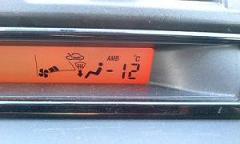マイナス12℃