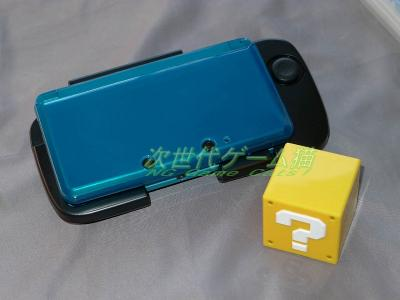 三英貿易_3DS_ハテナブロックカードケース_3DSとサイズ比較