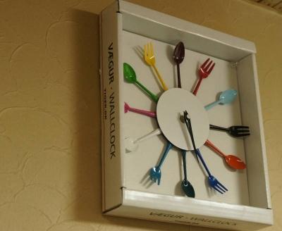 掛け時計ボックス