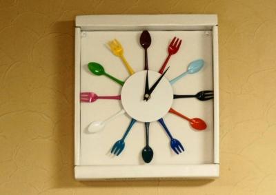 かトラリー掛け時計