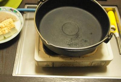 すき焼きなべ&鍋テーブル