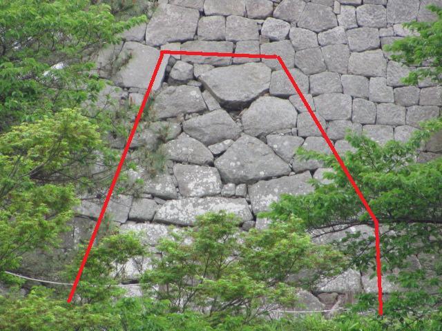 小峰城三重櫓台石垣平成25年5月10日1
