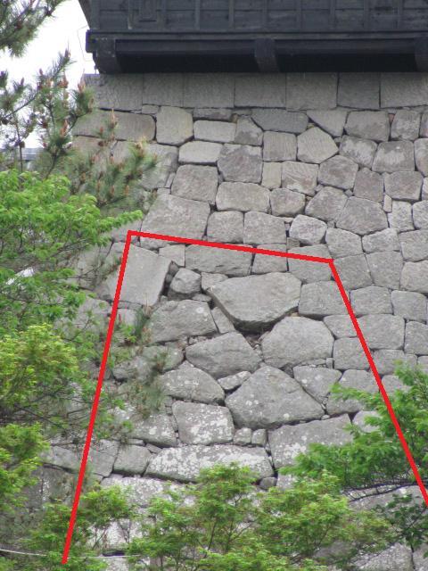 小峰城三重櫓台石垣平成25年5月10日2