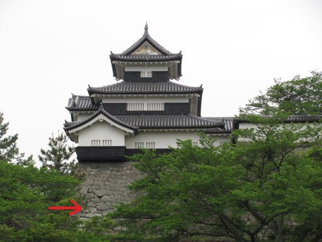 小峰城三重櫓台北面石垣平成25年5月10日3