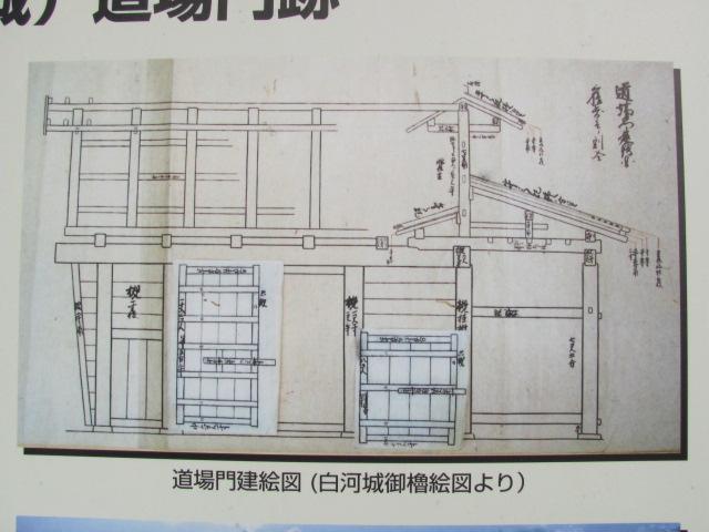 小峰城道場門平成平成22年12月4日b