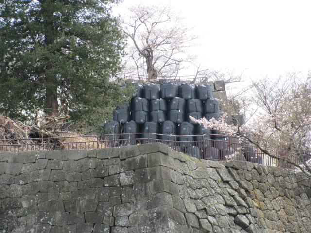 小峰城修復平成25年4月10日e