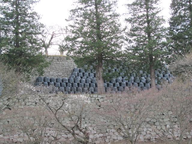 小峰城修復平成25年4月10日g