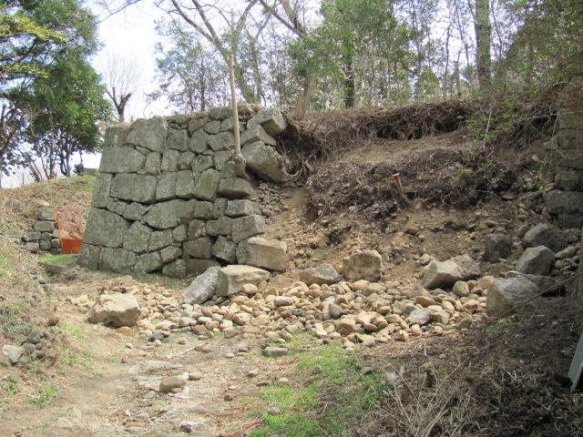 小峰城修復平成25年4月10日h