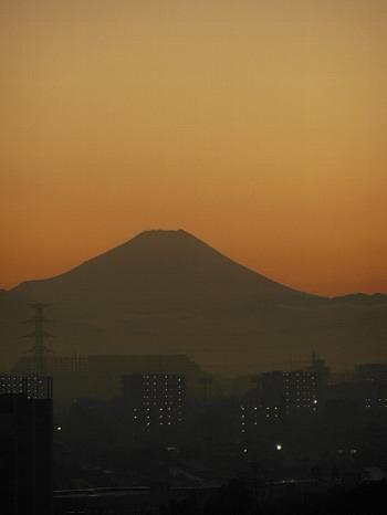 茜空の富士2
