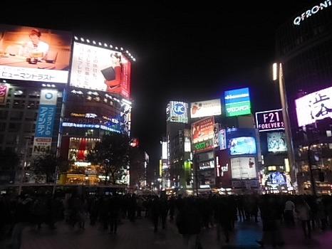 師走の渋谷