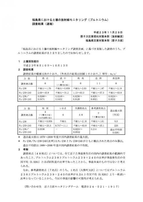 プルトニウムdojou111129-1