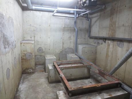 B1受水槽室跡
