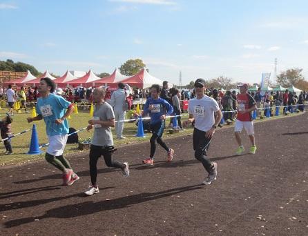 戸田マラソン2014ランニング
