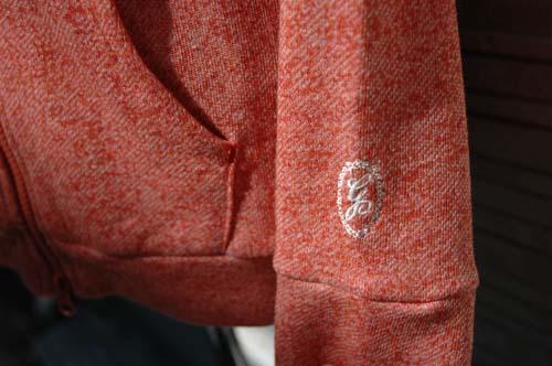 brog パーカーred袖