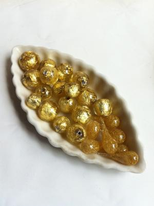 gold banded