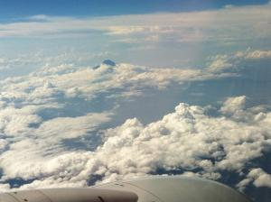 on clouds
