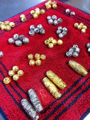 foil beads