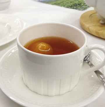 金柑の紅茶