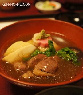 加賀の鴨の治部煮