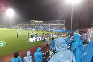 成す術もない感じにやられてしまった横浜FC。だが、落ち込む暇は無い